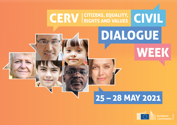 Join the launch conference of the new Citizens, Equality, Rights and Values programme (CERV) 2021-2027!