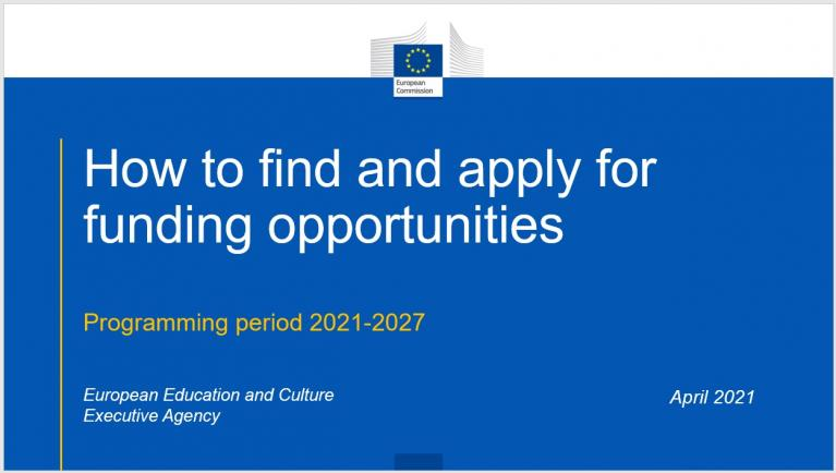 How to find and apply for funding